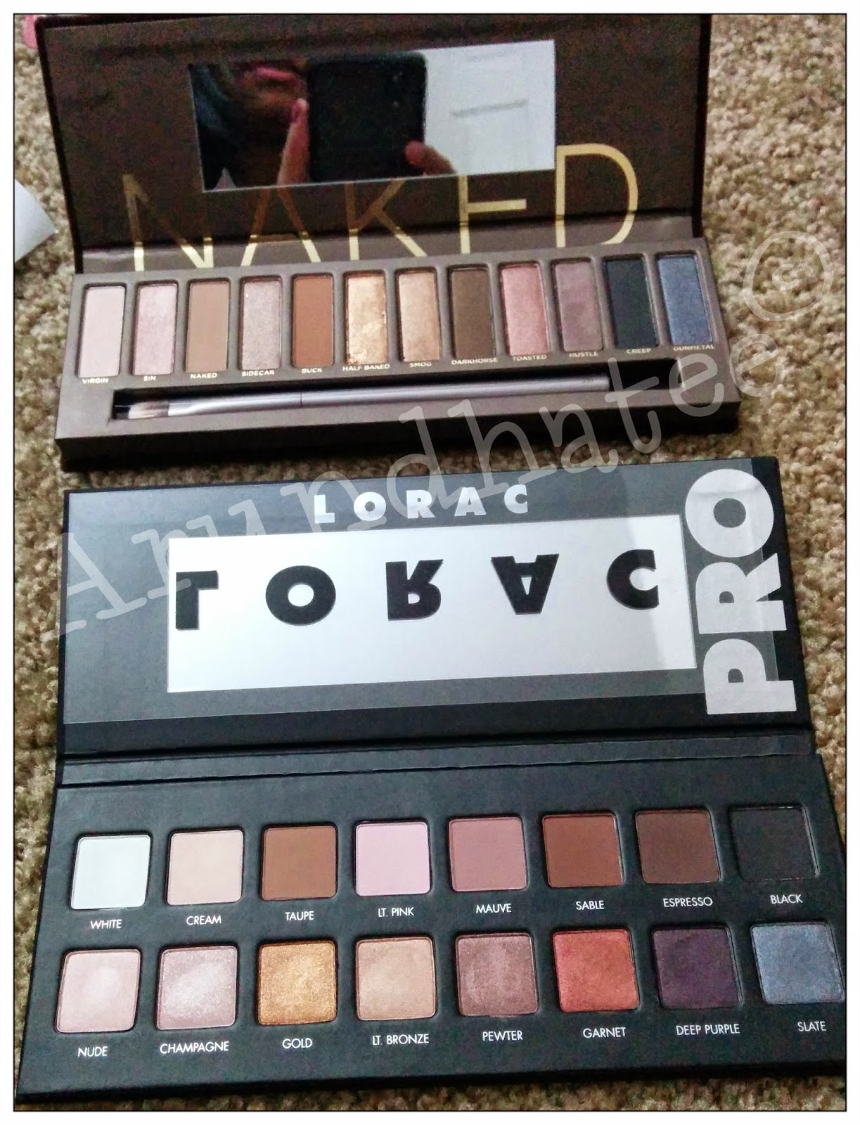 Lorac Pro To Go Professional Eye Collection Review: Discovering Me: Lorac: PRO Palette- Shimmer & Matte Eye