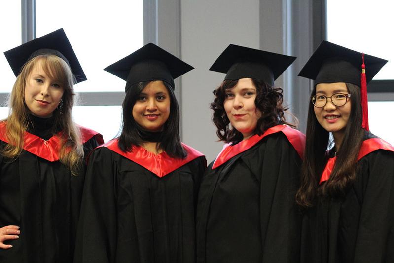 Sinh viên tốt nghiệp Đại học Khoa học Ứng dụng Wittenborg