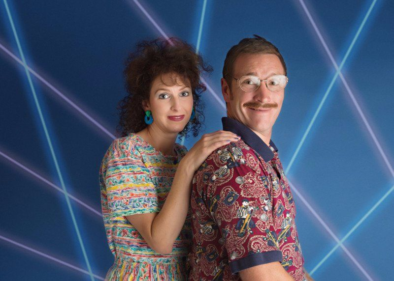 This Couple Did a Rad 80s Themed Photoshoot to Celebrate