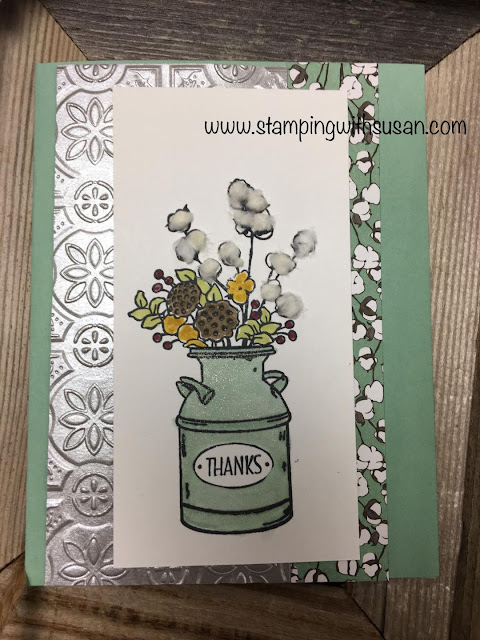 Stampin' Up!, Country Lane Suite, Wink of Stella, Cotton Tails, www.stampingwithsusan.com