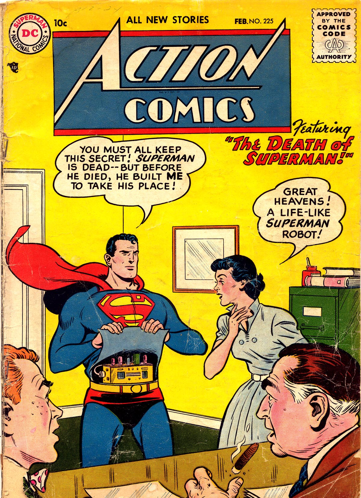 Read online Action Comics (1938) comic -  Issue #225 - 1