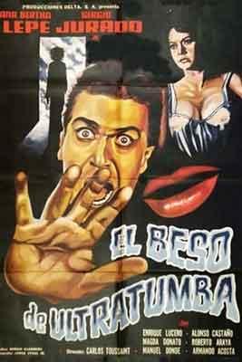 El beso de Ultratumba es una buena muestra del Cine de Terror y Suepense Mexicano.