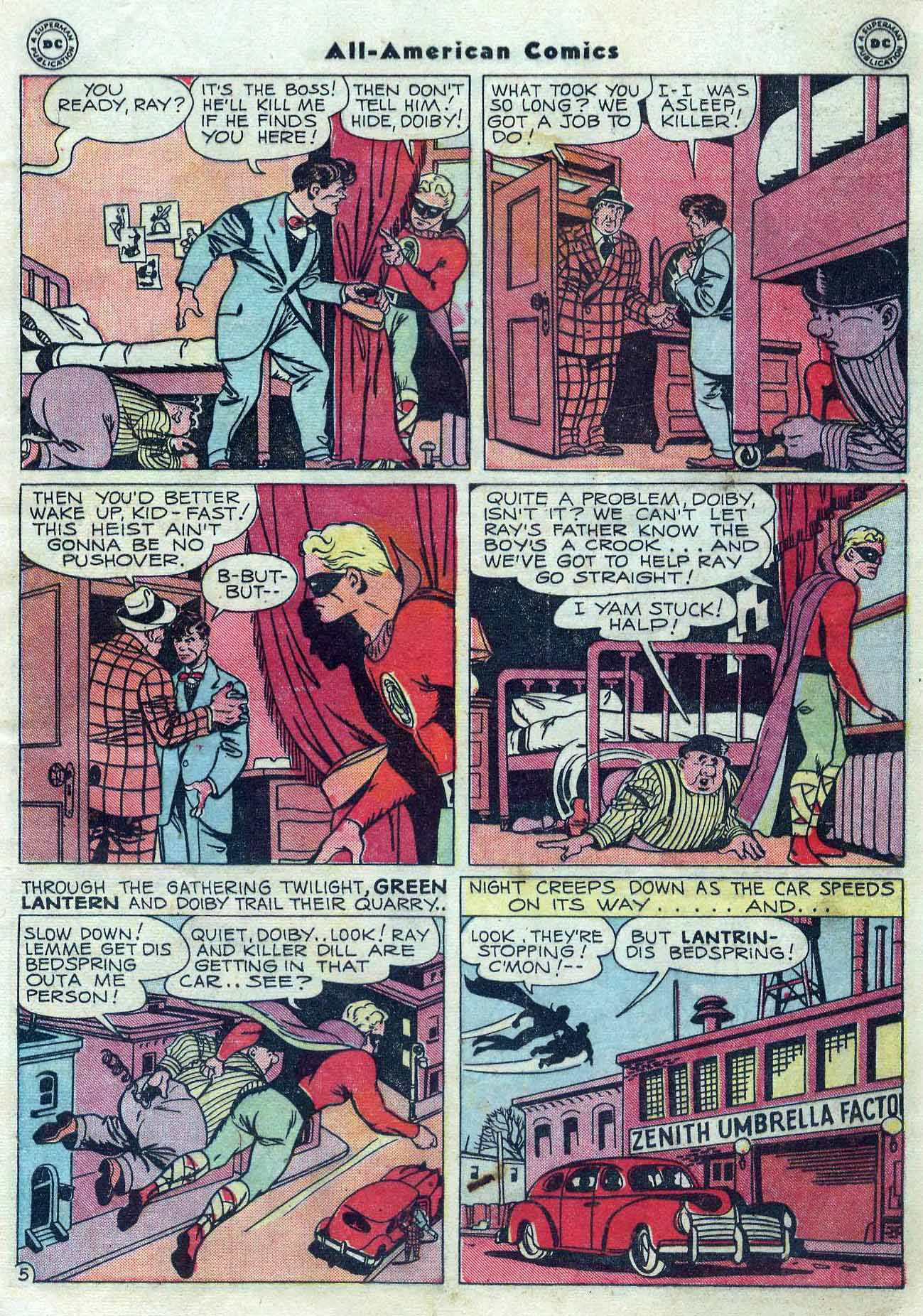 Read online All-American Comics (1939) comic -  Issue #76 - 7