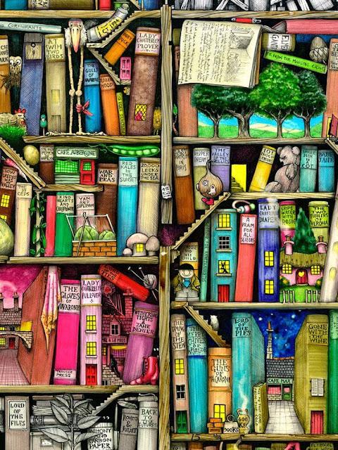 Libros juveniles que los adultos pueden leer - Ilustracion de Colin Thompson