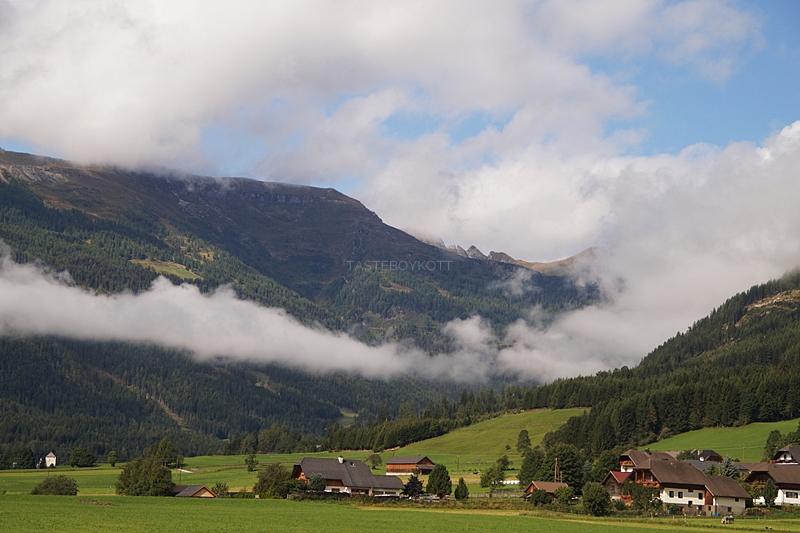 Urlaub im Lungau, Österreich, im September: Spaziergang bei Mauterndorf