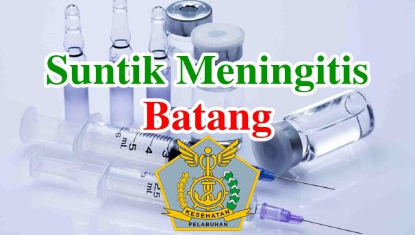 Alamat Tempat Suntik Vaksin Meningitis di Batang