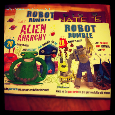 Alien Anarchy, Robot Rumble, Big nate makes the grade