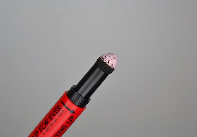 MAKE UP FOR EVER Pro Sculpt Lip Carmine Red 40 Review Swatch