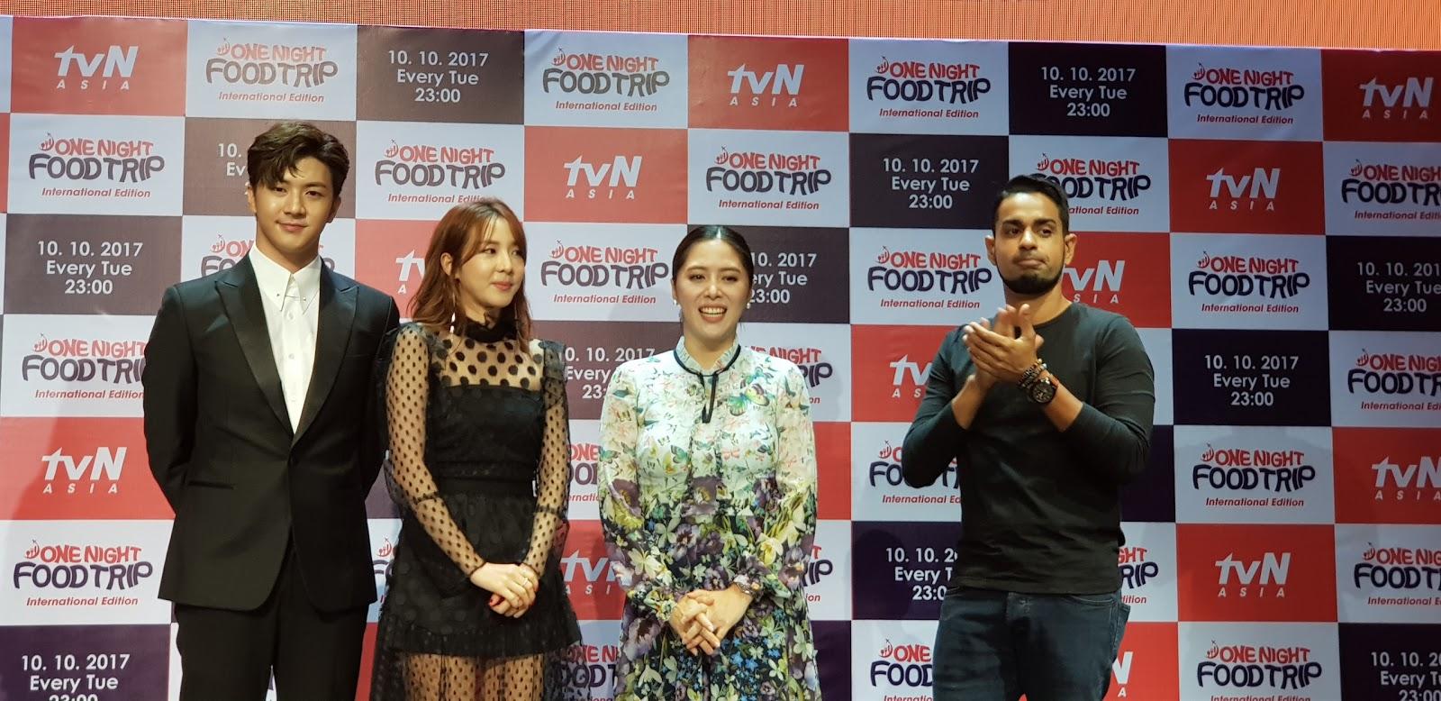 Sandara Thunder Park Joins Sam Yg And Grace Lee For One Night Food