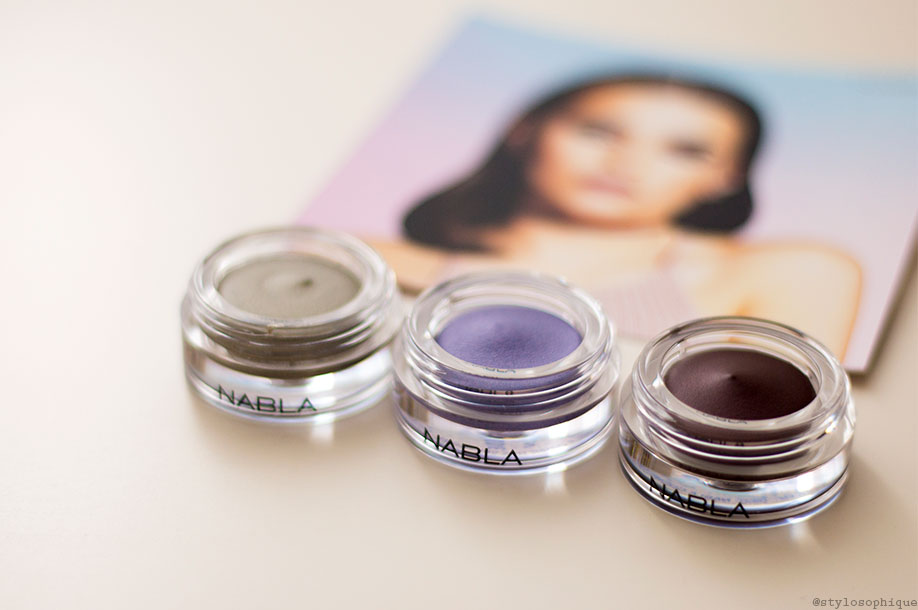 nabla, potion paradise, creme shadow, swatch