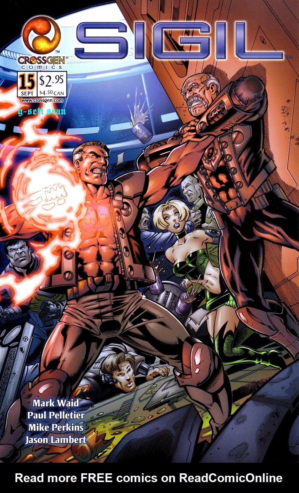 Read online Sigil (2000) comic -  Issue #15 - 1