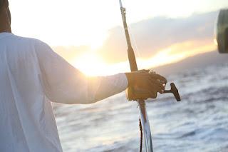 Ενισχυμένο κόλπο - δόλωμα για ψάρεμα με συρτή με κουταλάκι.