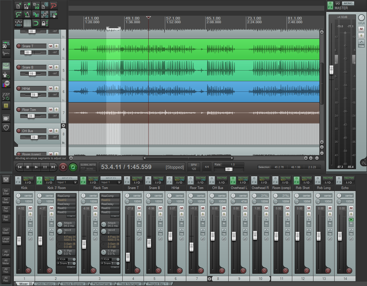Cockos REAPER Full v5.18 Final - Mixing Software - Full ...