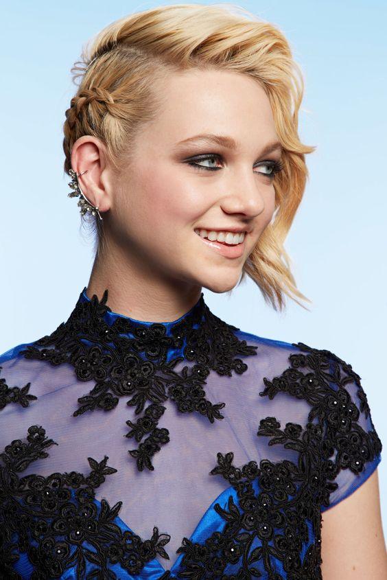 aqu las mejores imgenes de cortes de pelo mediano con trenzas como fuente de inspiracin with corte de pelo moda