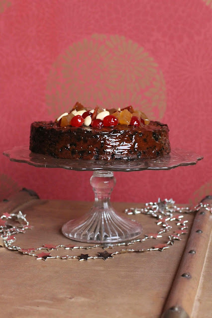 christmas cake britannique