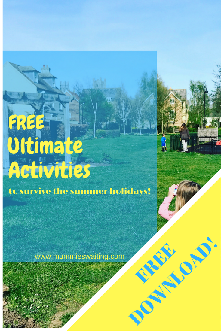FREE SUMMER HOLIDAYS ACTIVITY GUIDE