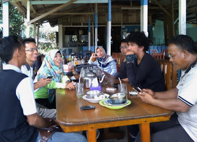 FOTO: Pengumpulan Data Hotspot oleh Relawan PSB di Desa Tanjung Leban