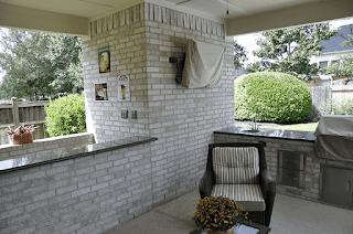 Custom Outdoor Kitchen DFW 13