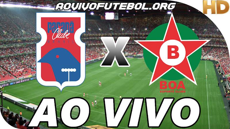 Assistir Paraná Clube x Boa Esporte Clube Ao Vivo