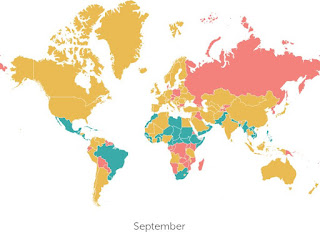 Where to travel in September high season