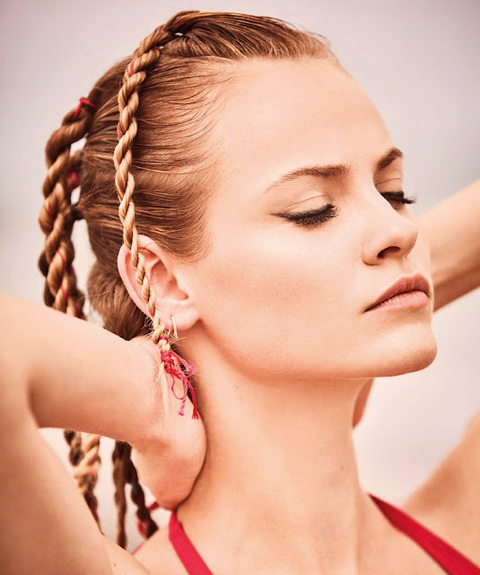 Photo: Ginta Lapina by Guy Aroch for Harpers Bazaar Spain May 2016