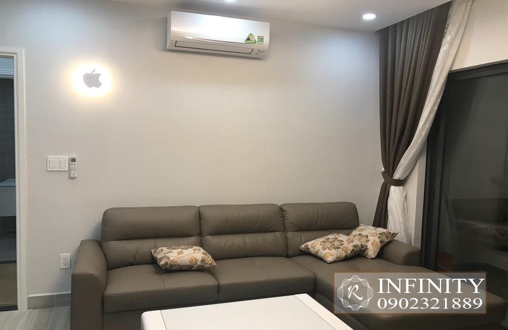 Cho thuê căn hộ Everrich Infinity Quận 5 tầng cao full nội thất - hình 2