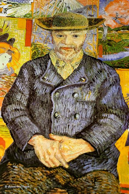 Van Gogh, Retrato de Pere Tanguy - Museo Rodin, París, por El Guisante Verde Project