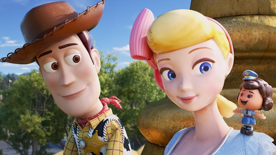 Toy Story 4 Woody Bo Peep Giggle Mcdimples 8k Wallpaper 32