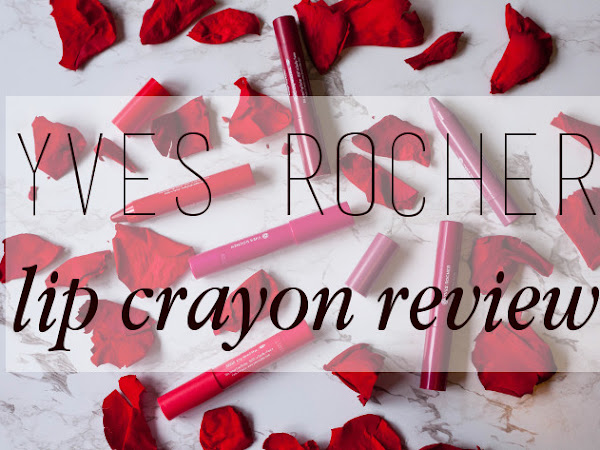 Beauty: Yves Rocher lip crayon and mattifying lip primer review
