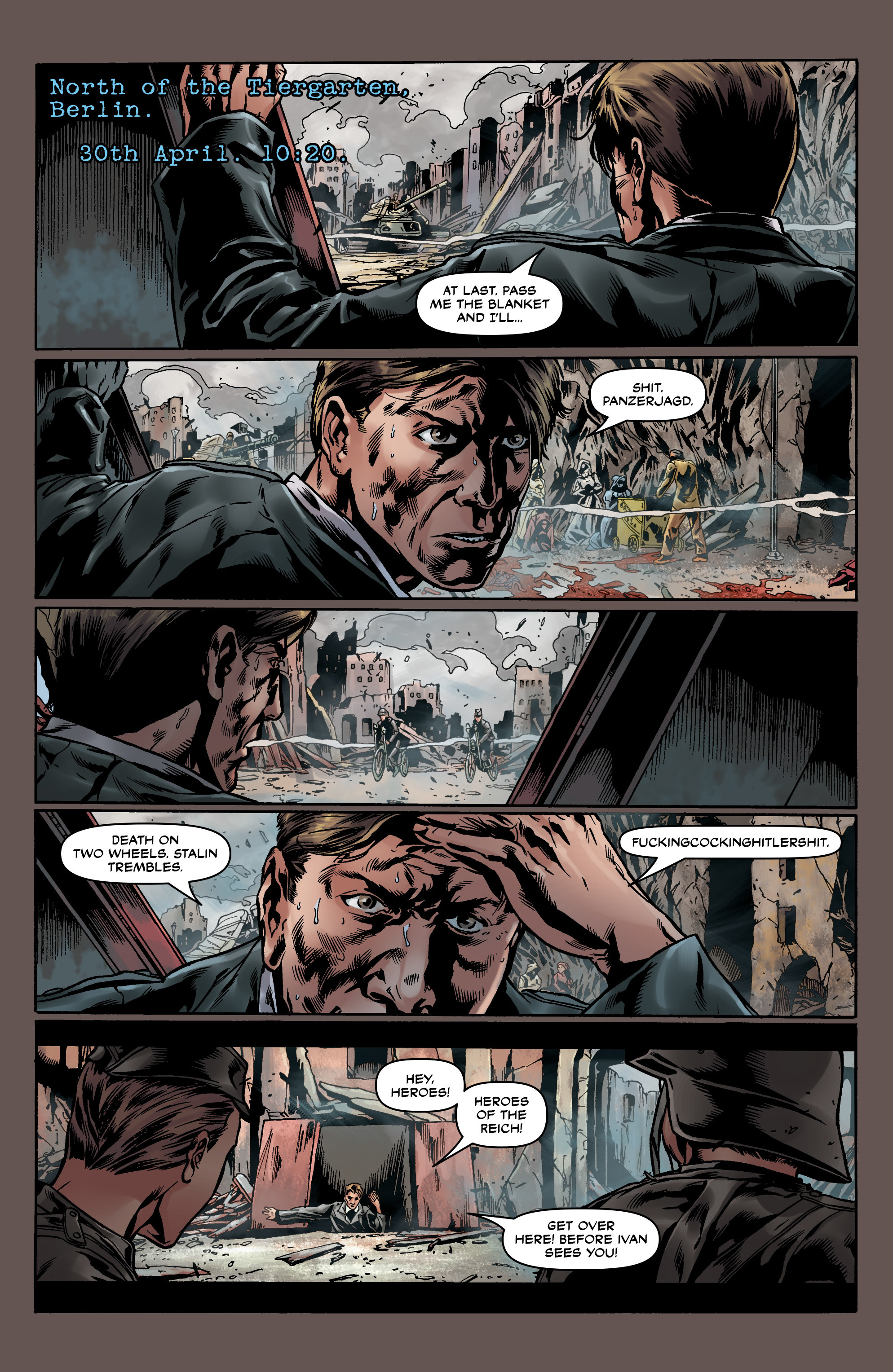 Read online Uber comic -  Issue #0 - 36