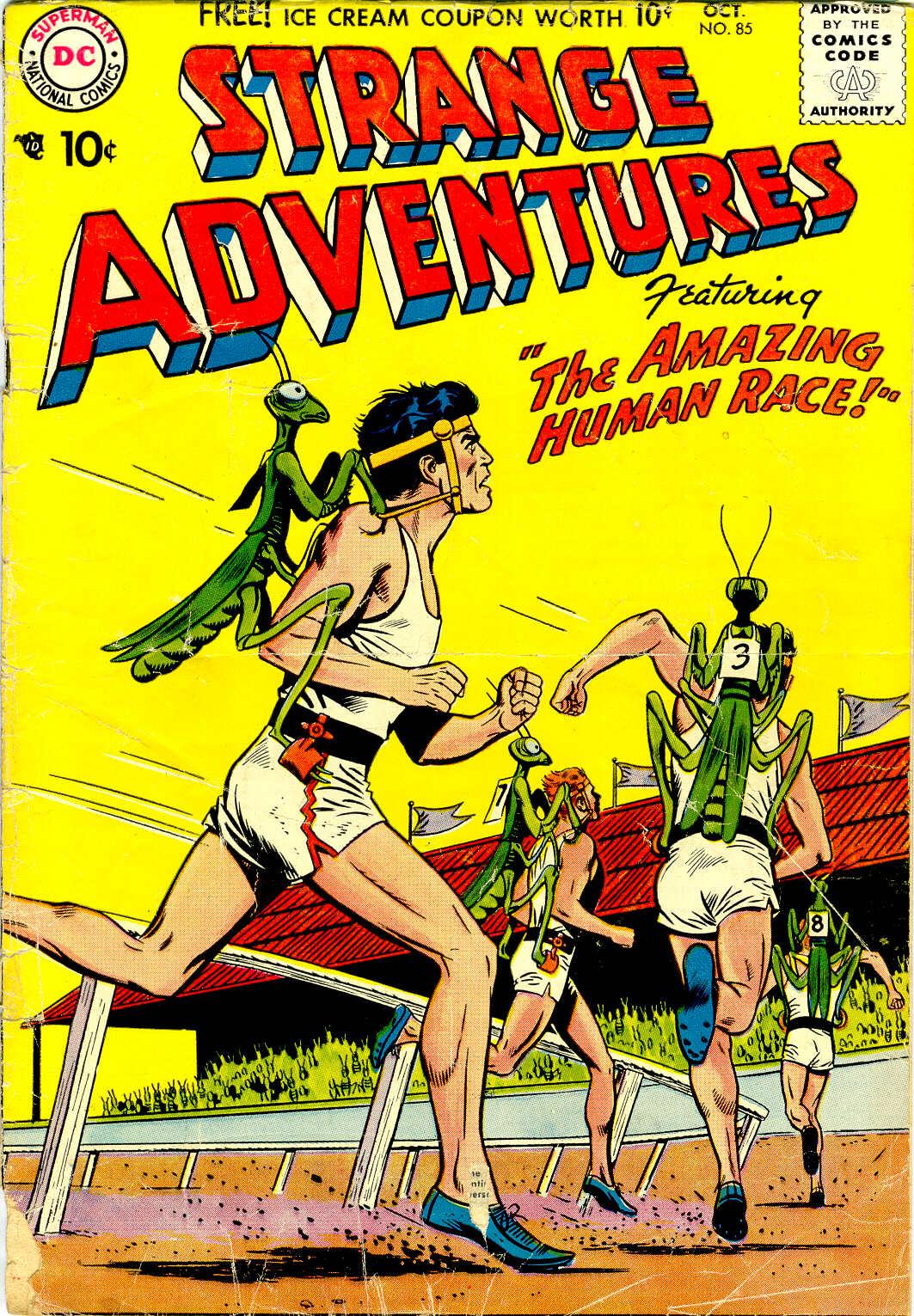 Strange Adventures (1950) 85 Page 1