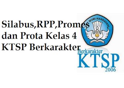 Silabus,RPP,Promes dan Prota Kelas 4 KTSP Berkarakter