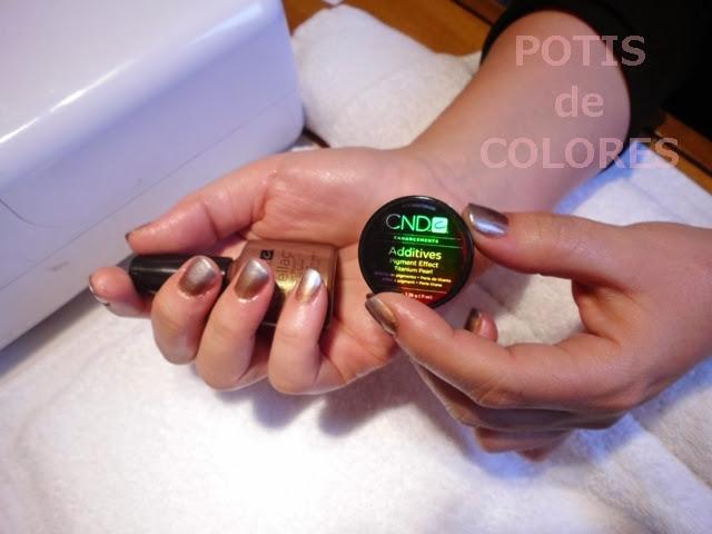 Potis De Colores Decoración De Uñas Con Esmaltes Permanentes
