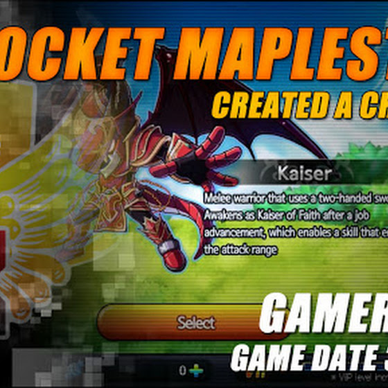 Gamer's Log, Game Date 3.25.2016 - Created A Character In Pocket MapleStory SEA