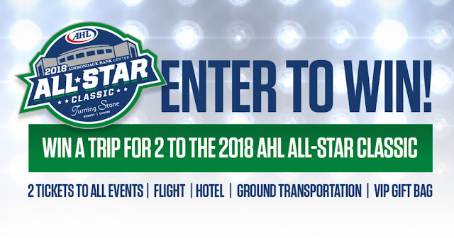AHL ALL-STAR CLASSIC 2018 SWEEPSTAKES