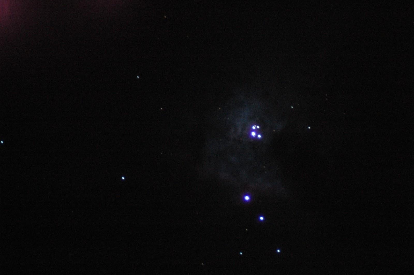 orion nebula through binoculars - photo #47