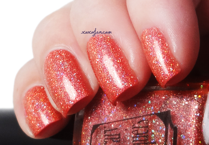 xoxoJen's swatch of Literary Lacquer Strong Steady Hand