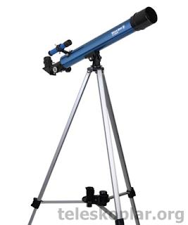 Meade Infinity 50 alt/az manuel kundaklı teleskop incelemesi