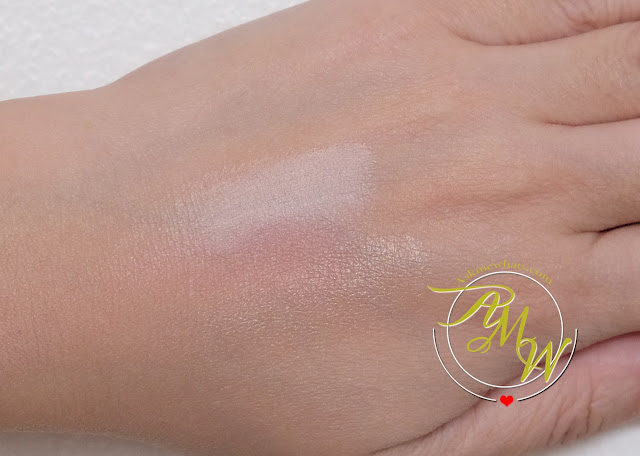a swatch photo of Max Factor Miracle Glow Duo Pro Illuminator review by Nikki Tiu of www.askmewhats.com