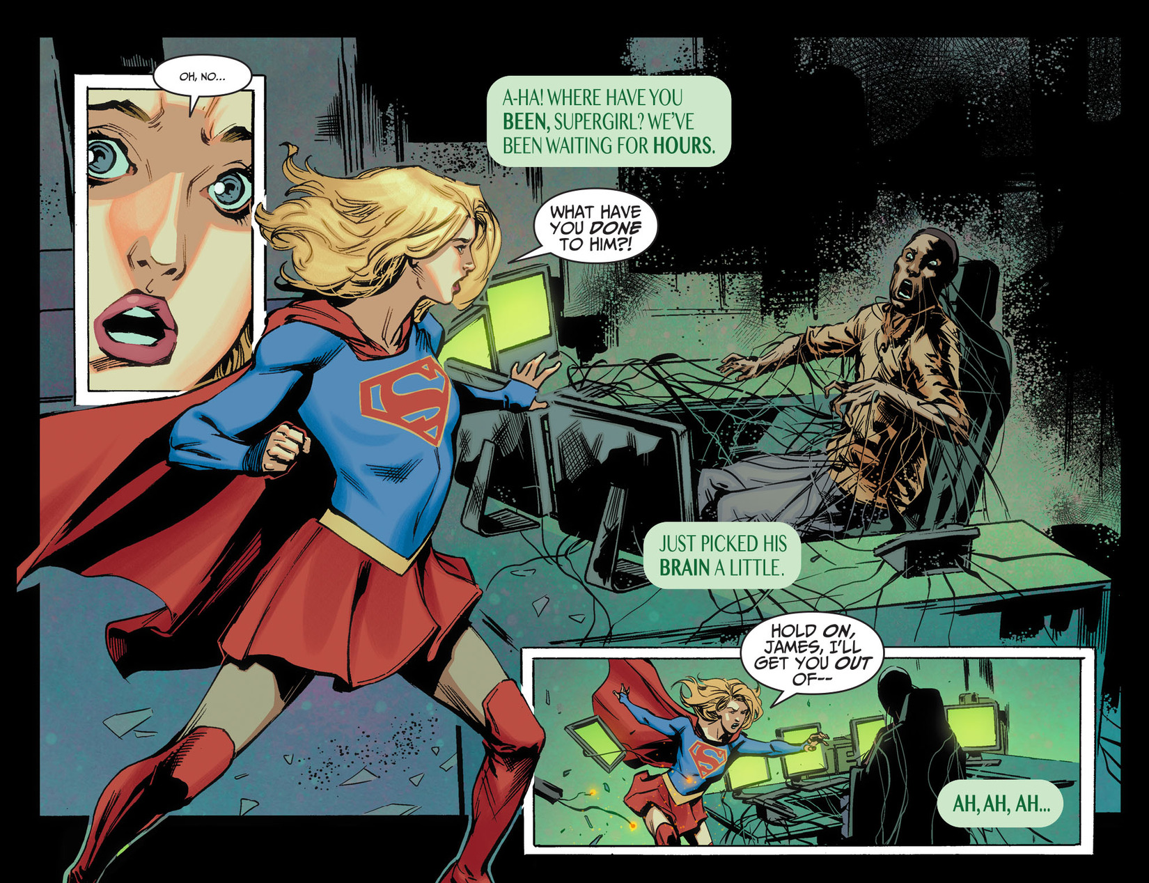 Read online Adventures of Supergirl comic -  Issue #5 - 11
