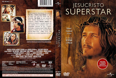 Carátula dvd: Jesucristo superstar (1973)