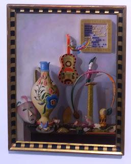 το έργο Λαϊκά Παιχνίδια του Νίκου Χατζηκυριάκου-Γκίκα στην Εθνική Πινακοθήκη
