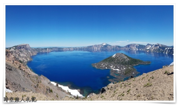 Crater lake national park 火山口湖國家公園遊記