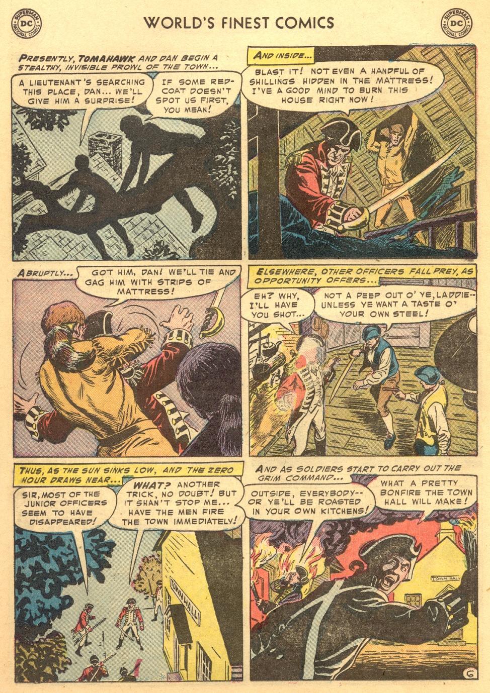Read online World's Finest Comics comic -  Issue #70 - 42