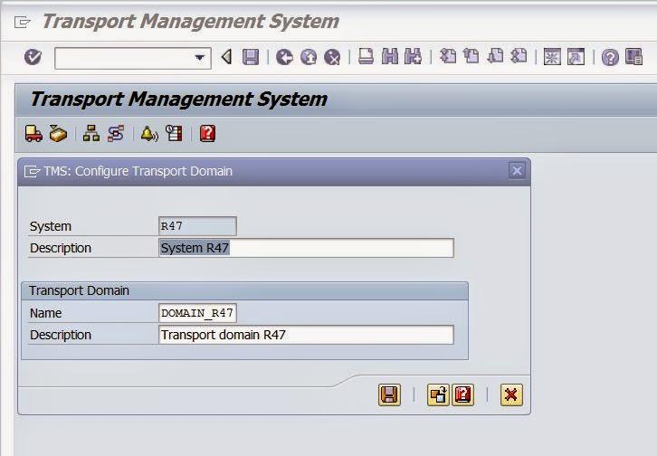 SAP Basis And Security: SAP Transport management system(STMS