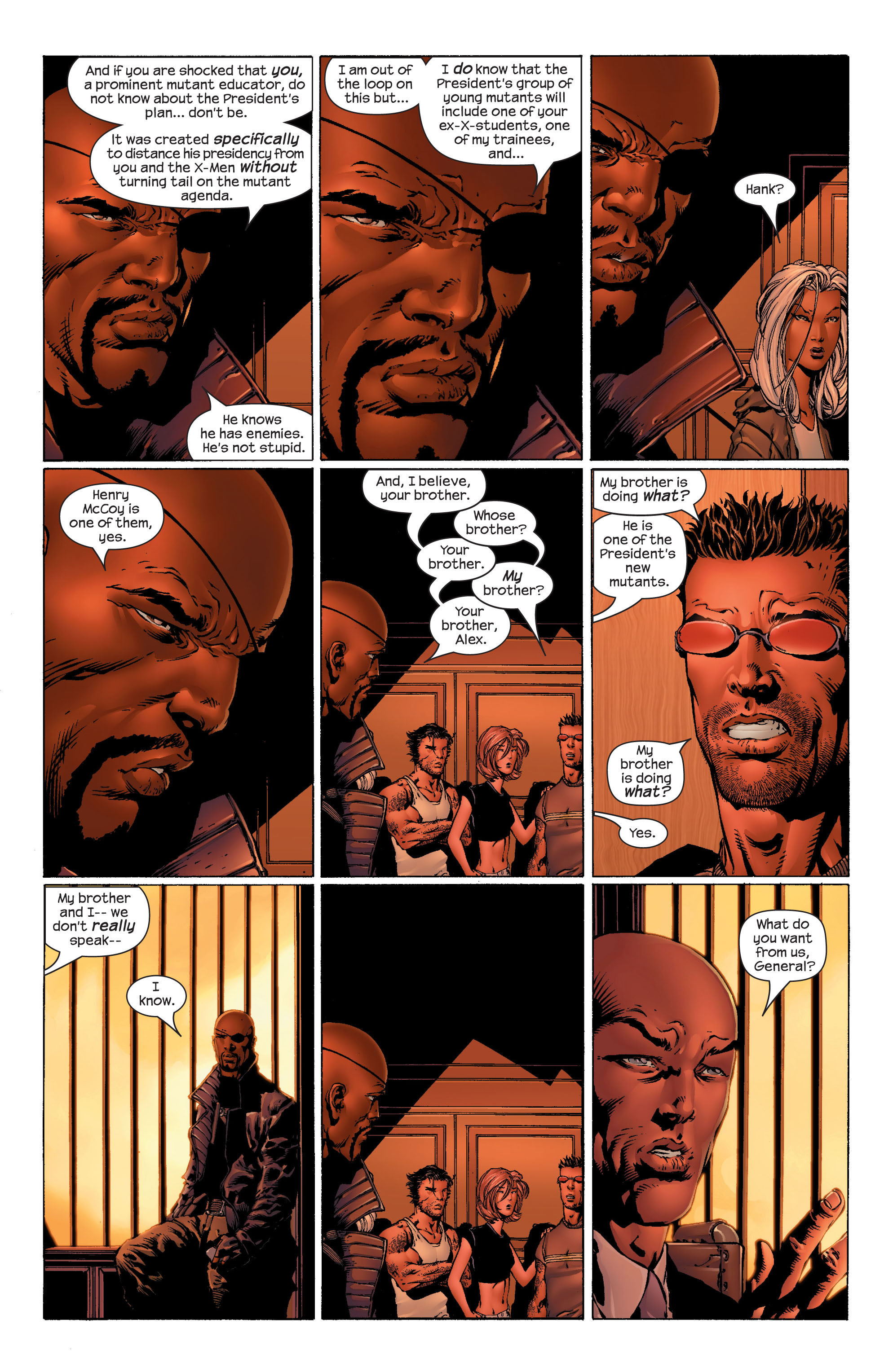 Read online Ultimate X-Men comic -  Issue #44 - 9