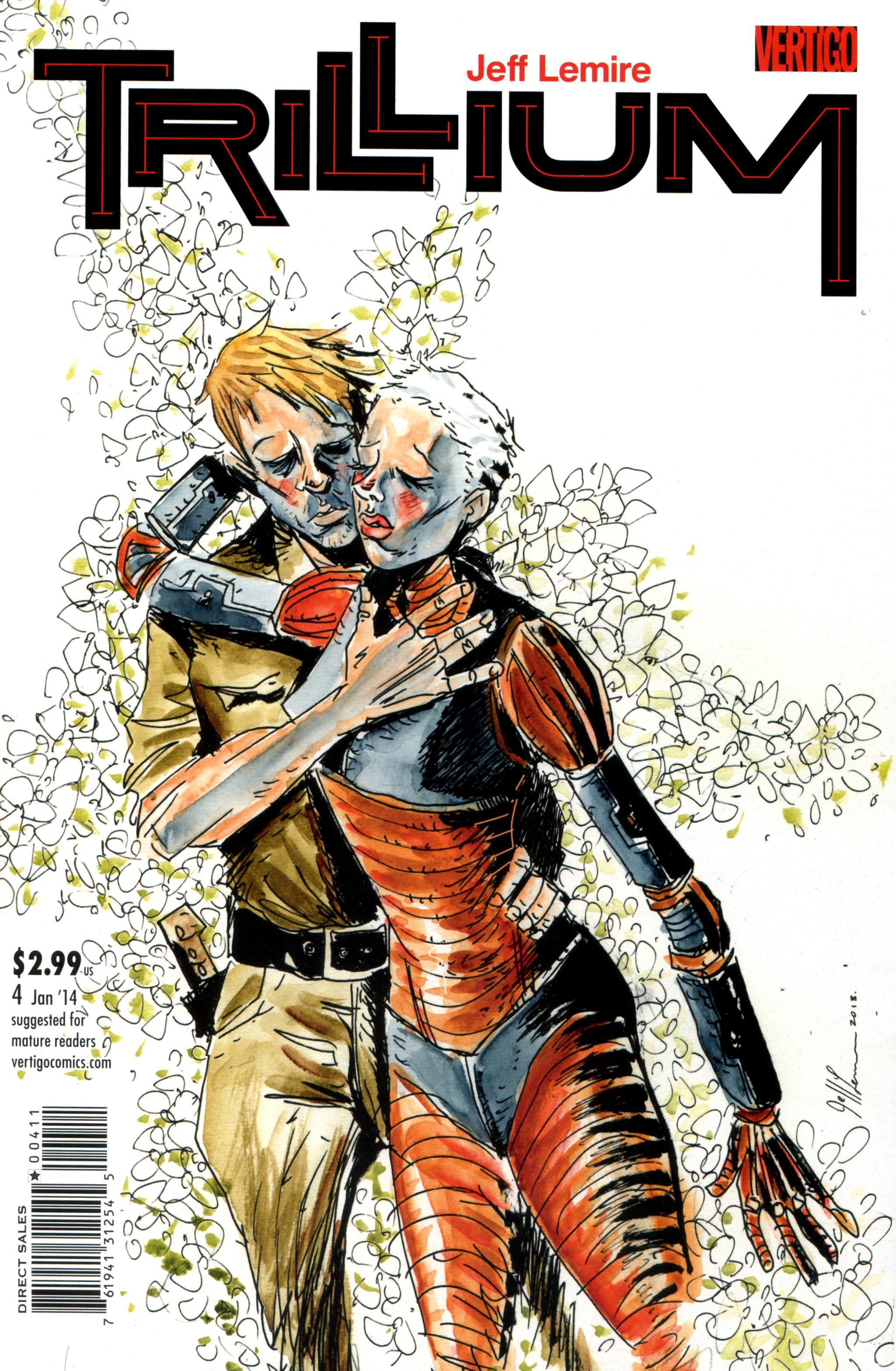 Read online Trillium comic -  Issue #4 - 1