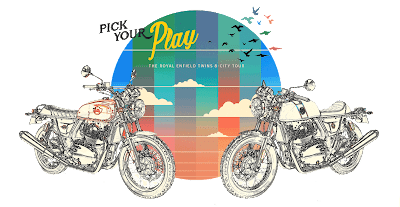 Royal Enfield Pick Your Play logo.