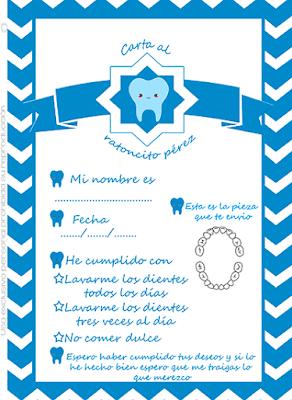 Carta del ratoncito Pérez personalizada gratis