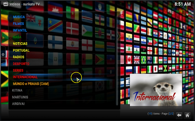 ... Surikata TV addon for kodi & xbmc 2016 - Tutorial Iptv ,Kodi ,Android